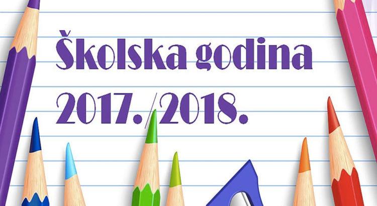 Školski kalendar za srednje škole Srbije za školsku 2018/2019. godinu