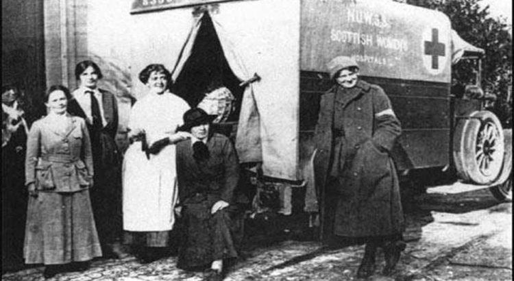 Junakinje Prvog svetskog rata