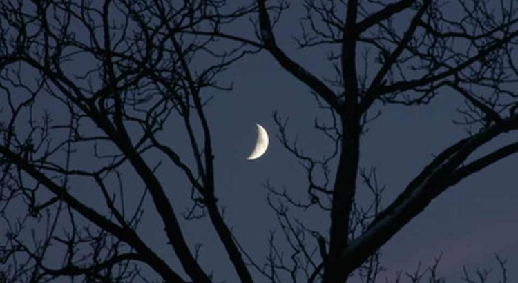 Mlad mesec u Devici 9. septembra
